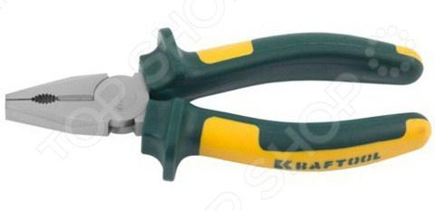 Плоскогубцы комбинированные Kraftool Kraft-Max плоскогубцы kraftool 220мм комбинированные karbmax 22018 1 22