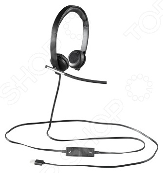 Гарнитура Logitech Headset H650e STEREO USB гарнитура qcyber roof black red звук 7 1 2 2m usb