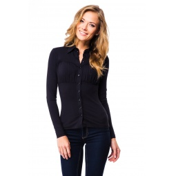 фото Блузка Mondigo 517. Цвет: черный. Размер одежды: 44