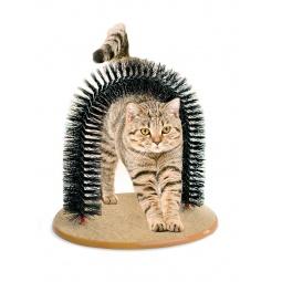Купить Когтеточка со щеткой «Кошачье удовольствие»
