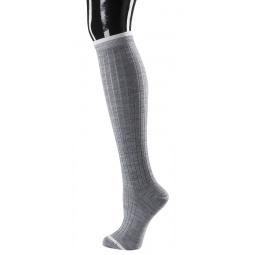 фото Носки женские Teller Wool High Knee-Socks. Цвет: светло-серый. Размер: 36-38