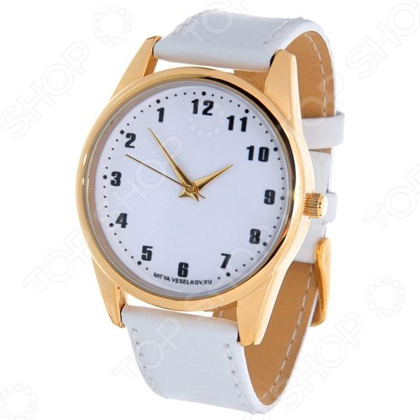 Часы наручные Mitya Veselkov «Обратный циферблат»