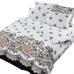 фото Комплект постельного белья Нежность «Кружево». 2-спальный. Размер наволочки: 70х70 см — 2 шт
