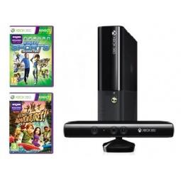 Купить Консоль игровая Microsoft Xbox 360 Stingray 4 Gb, игры Kinect Sports 2/Adventures и сенсор Kinect