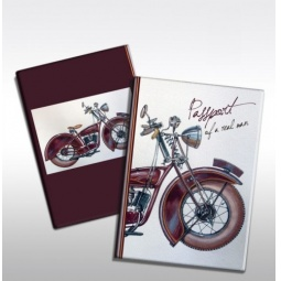 фото Обложка для паспорта Феникс-Презент «Мотоцикл»