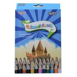 фото Набор карандашей цветных Beifa «Воздушный замок»: 36 цветов