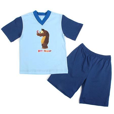 Купить Пижама Fenice «Маша и медведь» ЯВ120813. Цвет: синий, голубой