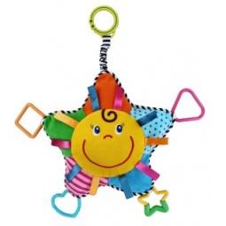 фото Игрушка подвесная Жирафики «Солнышко с прорезывателями»