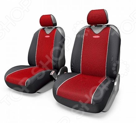 Набор чехлов-маек для передних сидений Autoprofi CRB-402Pf Carbon Plus