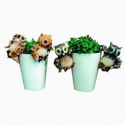 Купить Подвеска декоративная GREEN APPLE GRHP4-14 «Сова»
