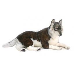 фото Мягкая игрушка для ребенка Hansa «Лесной волк лежащий»