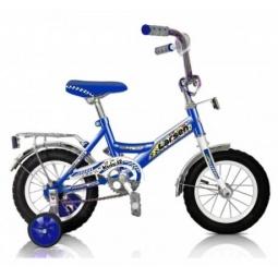 фото Велосипед Larsen Kids 12, 2013 года. Цвет: синий