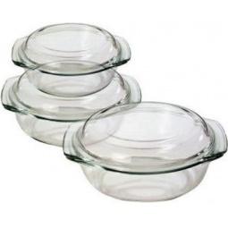 Купить Набор стеклянных кастрюль Termax ТМ СВЧ