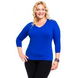 фото Кофта Mondigo XL 052. Цвет: синий. Размер одежды: 52