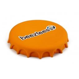 фото Игрушка для собак Beeztees Frisbee «Крышка от бутылки». Цвет: оранжевый