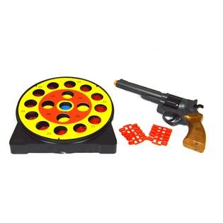 Купить Пистолет с мишенями и пульками Edison Giocattoli Champions-Line Target Game
