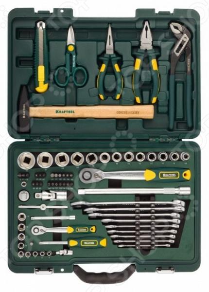 Набор слесарно-монтажного инструмента Kraftool Industry 27977-H70 кисть kraftool 1 01013 70