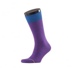 фото Носки мужские Teller Casual Friday Funky Dots. Цвет: фиолетовый. Размер: 44-46