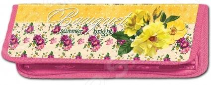 Пенал малый Проф-Пресс «Цветы и лето»