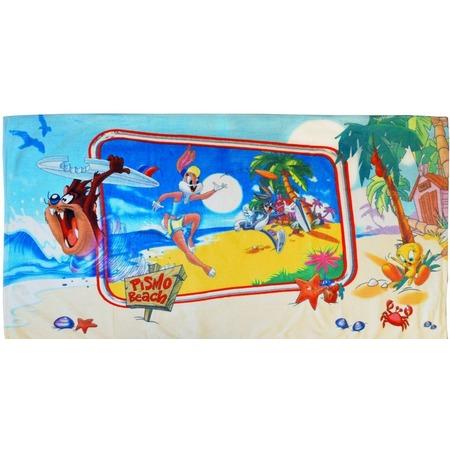 Купить Полотенце махровое Мульткарнавал «Таз и Лола на Гавайях»