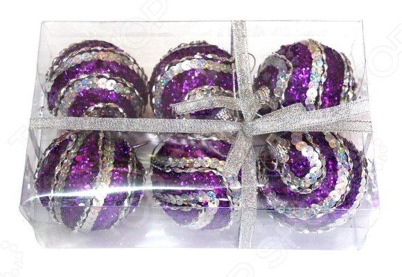 Набор новогодних шаров Новогодняя сказка 972182