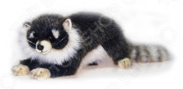 Мягкая игрушка для ребенка Hansa «Енотик лежащий» тигр лежащий t2021k o