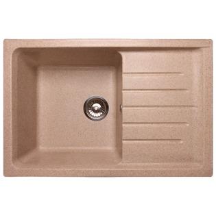 Купить Мойка кухонная GranFest Practic GF-P760L. Цвет: песочный
