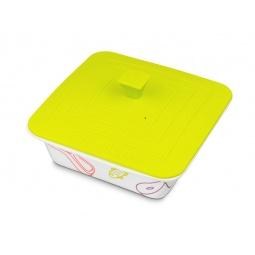 фото Форма для выпечки квадратная с крышкой Oursson. Цвет: зеленый