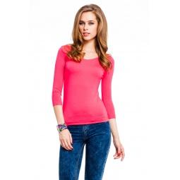 фото Кофта Mondigo 023. Цвет: ярко-розовый. Размер одежды: 46
