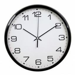 фото Часы настенные Бюрократ WALLC-R07P. Цвет: черный