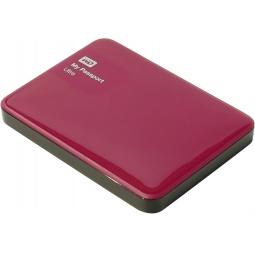 фото Внешний жесткий диск Western Digital My Passport Ultra 500Gb. Цвет: красный