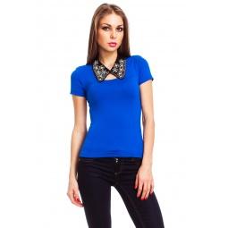 фото Футболка Mondigo 490. Цвет: синий. Размер одежды: 42