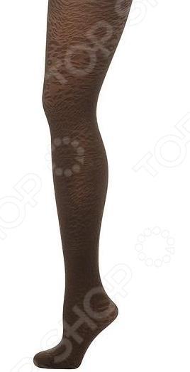 Колготки фантазийные Burlesco X4. Цвет: коричневый
