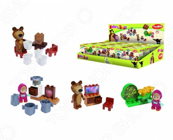 Конструктор игровой BIG «Стартовый набор». В ассортименте big big конструктор маша и медведь бассейн 29 деталей