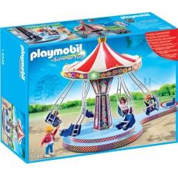 фото Конструктор игровой Playmobil «Парк Развлечений: Аттракцион - Карусель»