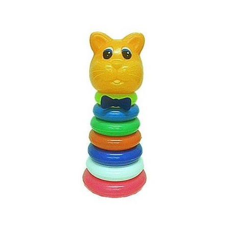 Купить Игрушка-пирамидка Плэйдорадо «Котенок» 25068