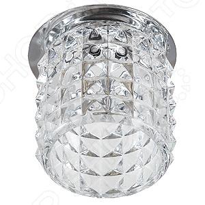 Светильник встраиваемый потолочный Эра DK59 CH/WH