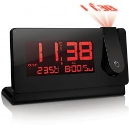 фото Проекционные часы с внешним датчиком температуры Oregon Scientific RMR391P. Цвет: черный
