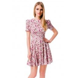 фото Платье Mondigo 5046. Цвет: молочный. Размер одежды: 44