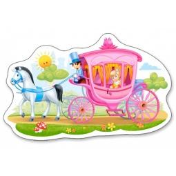фото Пазл для малышей Castorland «Принцесса в карете» В-015122