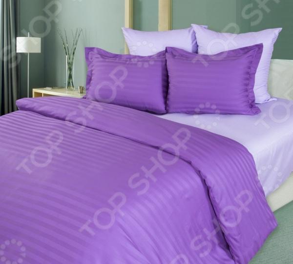 Комплект постельного белья Королевское Искушение «Лаванда» 1710285 комплект постельного белья королевское искушение арктический пунш