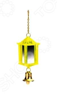 Игрушка для птиц Beeztees «Фонарик с колокольчиком» 010215