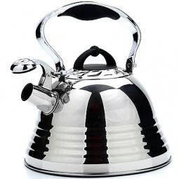 Купить Чайник со свистком Mayer&Boch Wavy Mirror