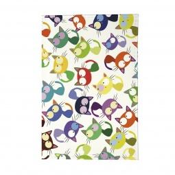 фото Обложка для паспорта Mitya Veselkov «Цветные кошки - мешанина»