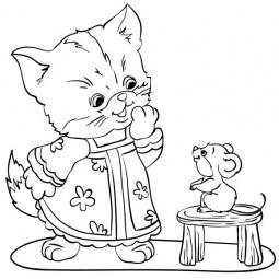 фото Роспись по холсту Color Puppy «Котенок» 63988