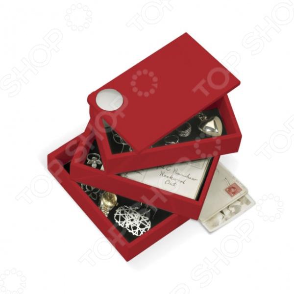 Шкатулка Umbra Spindle оригинально смоделированная шкатулка для мелких, обычно ценных вещей: колец, цепочек, сережек и прочего. Прекрасный подарок на новоселье, окончание ремонта или просто на день рождения действительно близкому человеку. Такой аксессуар станет оригинальным украшением, внесет яркий акцент в интерьер любой комнаты, а так же поднимет настроение и создаст уют в доме.