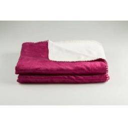 Купить Покрывало Dormeo Extreme Soft. Цвет: пурпурный