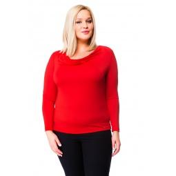 фото Кофта Mondigo XL 1464. Цвет: красный. Размер одежды: 48