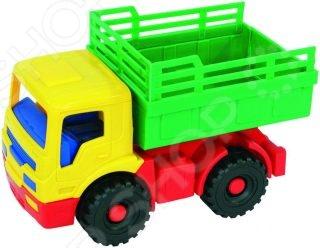 Машинка игрушечная Нордпласт «Сеновоз Кузнечик» игрушечная техника и автомобили rastar 43000 1 14 lp700 4 rc roadstar