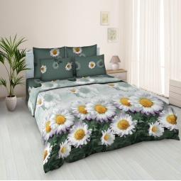 фото Комплект постельного белья Jardin «Любит-не-любит». 1,5-спальный